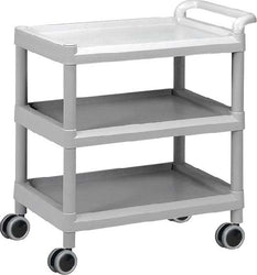 ABS Plastic Utility Cart: Large, No Drawer - CAM SUPPLY INC. DBA WABBO