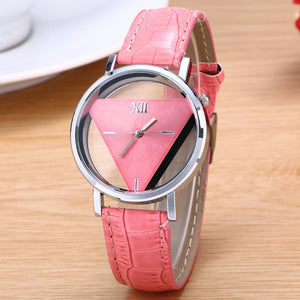 Women Luxury Inverted Triangle Watch
