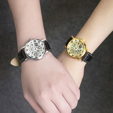Load image into Gallery viewer, Vintage Hollow Mechanical Design Couple Watch