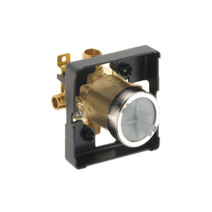 DELTA: MULTICHOICE(R) UNIVERSAL TUB AND SHOWER VALVE BODY W/STOPS F-1960 EXP PEX