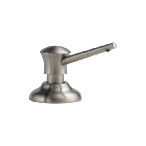 DELTA: SOAP/LOTION DISPENSER STAINLESS