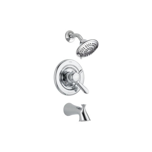 DELTA LAHARA TUB & SHOWER TRIM LEVER HANDLES- DUAL FUNCTION CHROME