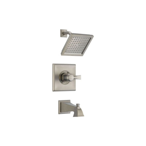 DELTA DRYDEN: MONITOR(R) 14 SERIES TUB AND SHOWER TRIM BRILLIANCE STAINLESS