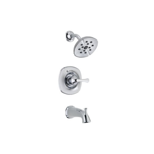 DELTA ADDISON: MONITOR(R) 14 SERIES TUB AND SHOWER TRIM CHROME