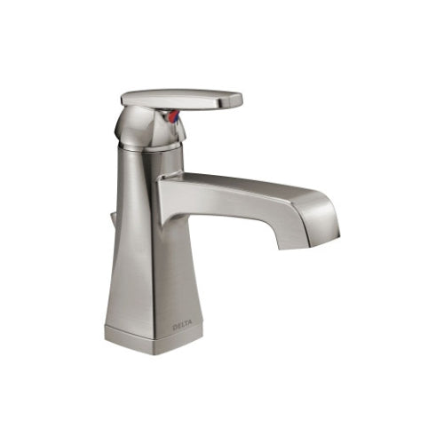 DELTA ASHLYN SINGLE HANDLE LAV BILLANCE STAINLESS