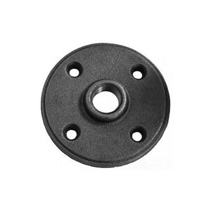 "3/4"" Black Floor Flange"