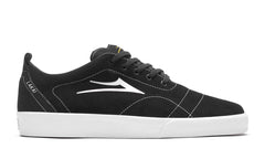 Bristol - Black/White Suede