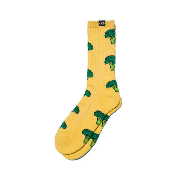 Broccoli Crew Sock