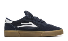 Cambridge - Navy/White Suede