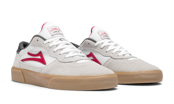 Cambridge - White/Gum Suede
