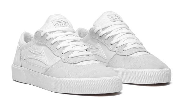 Cambridge - White/White Suede