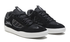 Carroll - Black/White Suede