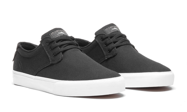 Daly - Black/Grey Canvas