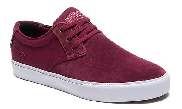 Daly - Burgundy Suede
