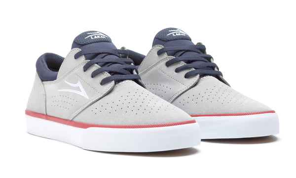 Fremont Vulc - Light Grey/Navy Suede