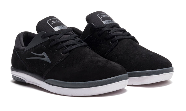 Fremont - Black/Charcoal Suede