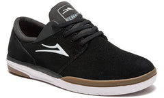 Fremont - Black/Grey Suede