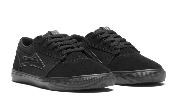 Griffin Kids - Black/Black Suede