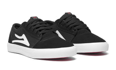 Griffin Kids - Black/White Suede