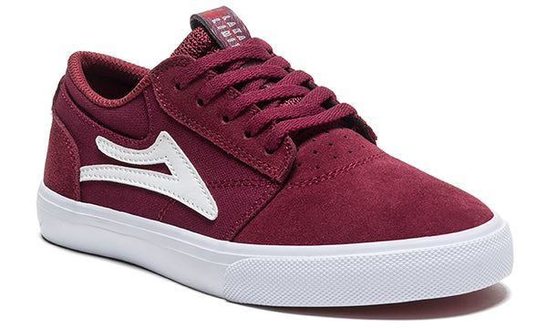 Griffin Kids - Burgundy Suede