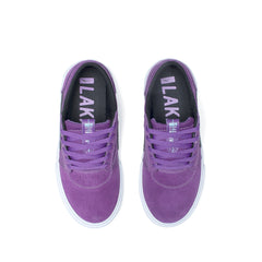 Griffin Kids - Purple/Black Suede