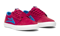 Griffin Kids - Red/Blue Suede
