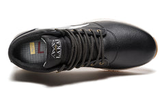 Griffin Mid - Black Leather
