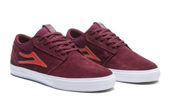 Griffin - Burgundy Suede