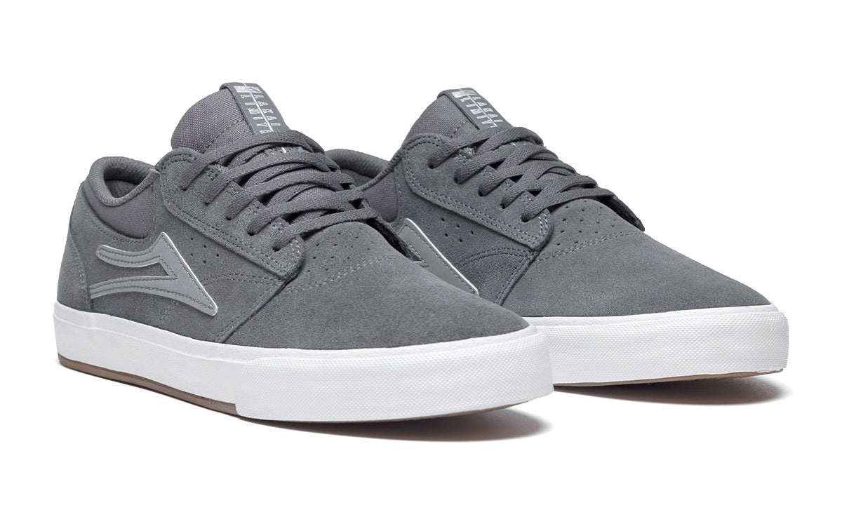coupon Fulfill napkin  Griffin VLK - Grey/Silver Suede - Mens Shoes - Skate Vulcanized | Lakai –  Lakai Limited Footwear