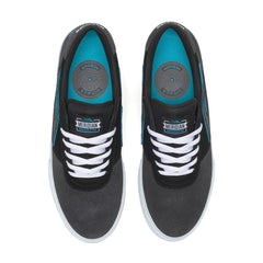 Manchester - Meridian Charcoal/Black Suede
