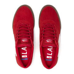 Manchester - Red/Gum Suede