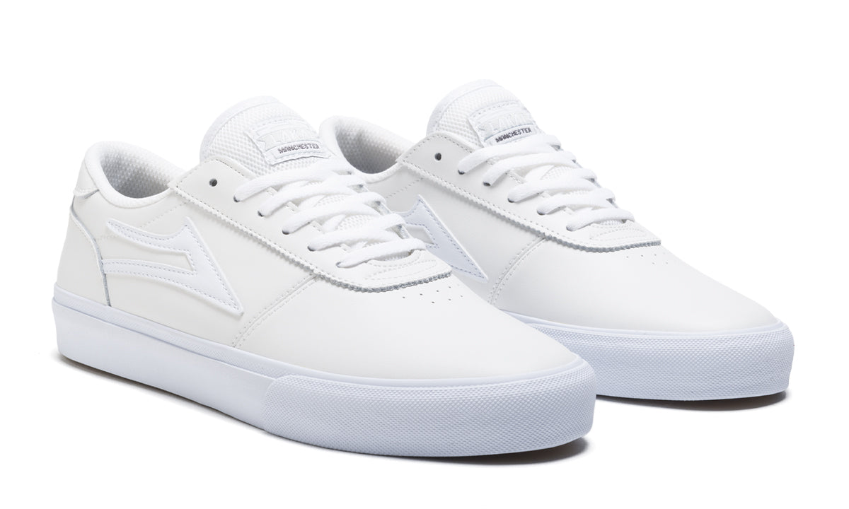 Manchester - White Leather - Mens Shoes
