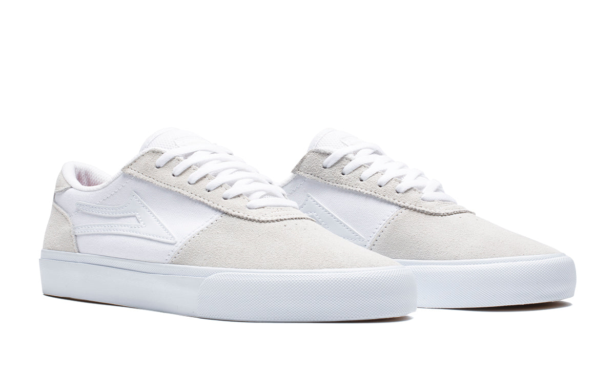Manchester - White/White Suede - Mens