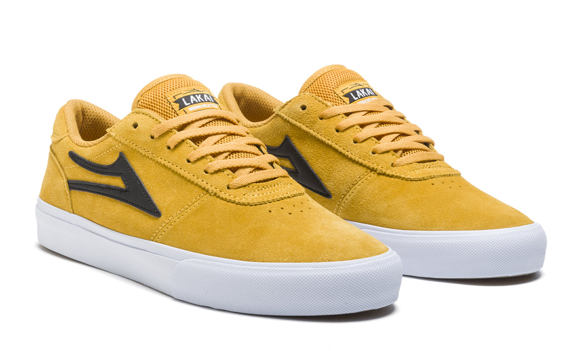 Manchester - Yellow/Black Suede - Mens