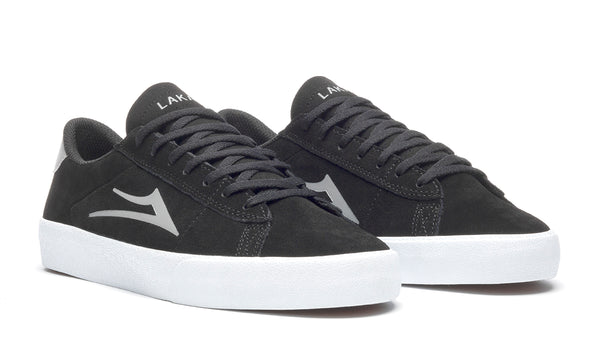 Newport - Black/Light Grey Suede
