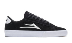 Newport - Black/White Suede