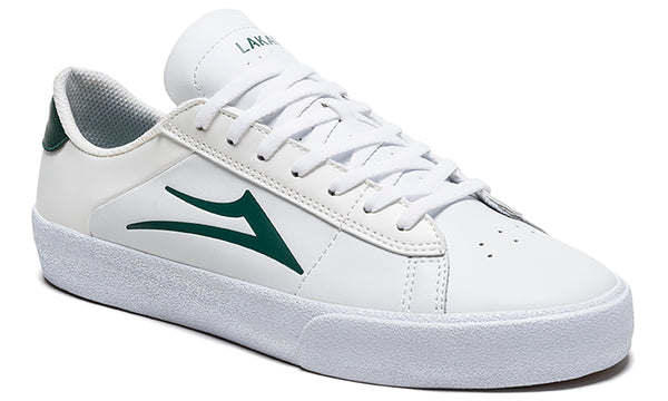 Newport - White/Pine Leather