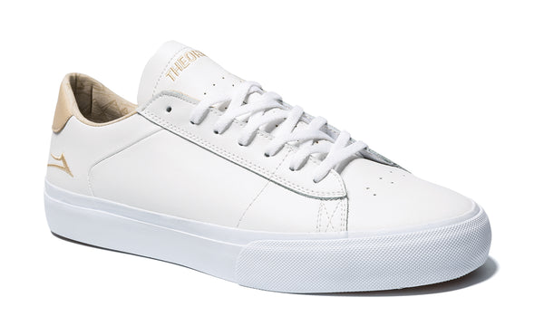 Newport - White/Sand Leather