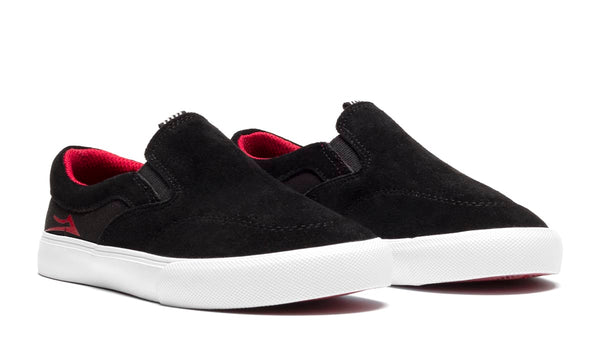 Owen Kids - Black/Red Suede