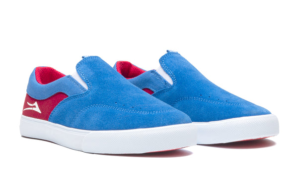 Owen Kids - Blue/Red Suede