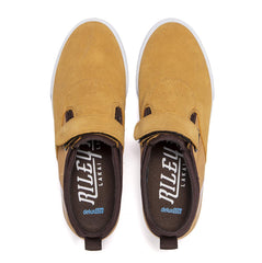 Riley 2 Velcro Strap - Honey Suede
