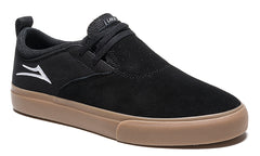 Riley 2 - Black/Gum Suede
