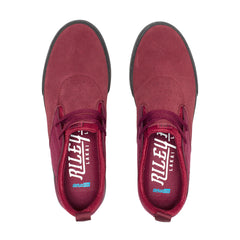 Riley 2 - Burgundy/Black Suede