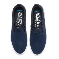 Riley 2 - Navy Suede