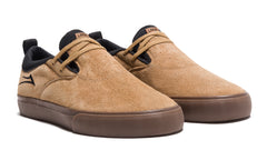 Riley 2 - Tobacco Synthetic Nubuck