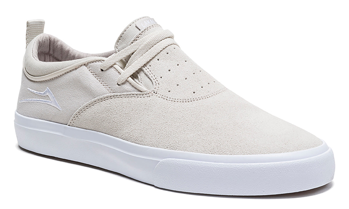 Riley 2 - White Suede - Mens Shoes