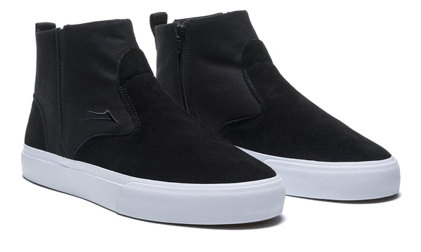 Riley Mid - Black Suede