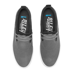 Riley 2 - Charcoal Synthetic Nubuck