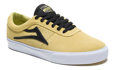 Sheffield - Dusty Yellow/Black Suede