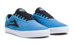 Sheffield - Light Blue/Black Suede